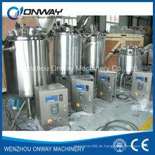 Pl Edelstahl-Jacke Emulgierung Mischbehälter Ölmischmaschine Mischer-Zucker-Lösung Mischbehälter