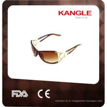 2014 lunettes de soleil de la mode et des paillettes