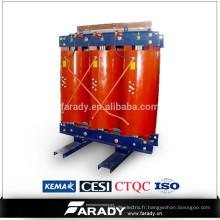 11kv 200kva fonte résine type sec transformateur de puissance électrique prix de SCB10