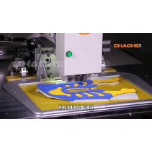 máquina de coser perforadora industrial
