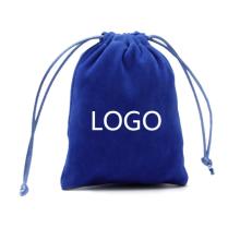 Wholesale custom promotion 2021 velvet jewelry bag
