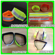 2016 China novo design 3m braçadeira reflexiva elástica