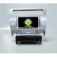 Quad core! Auto dvd mit spiegel link / DVR / TPMS / OBD2 für 7 zoll touchscreen quad core 4.4 android system CITROEN C4 (Silber)