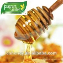 Hoher Pollengehalt Akazien Bienen Honig in loser Schüttung