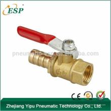 válvula neumática de control de aire del acoplador rápido plástico de la fábrica