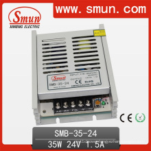 35W 24V1.5A Plastic Case Ultra Switching Power Supply