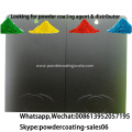 high anti Scratch resist black color powder coating