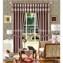 Stripe style et Home Hotel Utilisez le drap rideau de toile de fond