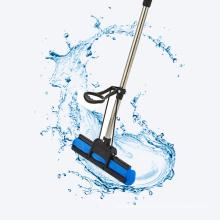 Floor Cleaning Flat Stick and Bucket Magic Spin PVA High Absorbent Aluminium Sponge Mop