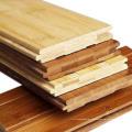 Carbonisierter horizontaler fester Bambusbodenbelag