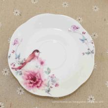 Placa de porción de melamina de cerámica de los productos más vendidos
