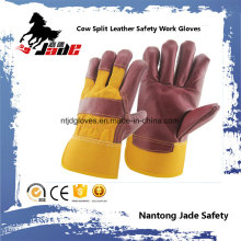 Cowhide Furniture Leather Work Hand Safety Industrial Glove