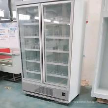 expositor de porta de vidro de geladeira de supermercado