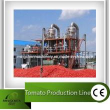 Produktionslinie für Tomatenmark