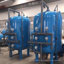 Recipientes de pressão de filtro de areia industrial com revestimento interno de borracha