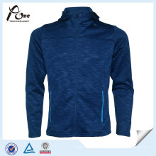 Full Zipper Fleece Polyester Cheap Wholesale Hommes Sports Jackets