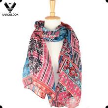 Bufanda colorida al por mayor del resorte del verano de la venta al por mayor