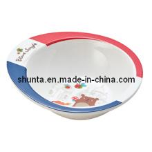 """100% Melamine Tableware- """"France Bear""""Series Kid′s Rice Bowl (FB12115)"""