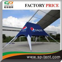Publicité facile jusqu'à la tente Jumbo Star 10x14m pour les promotions en plein air ou la présentation du produit