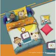 Lovely Monkey Kid′s Duvet Cover Set #130552