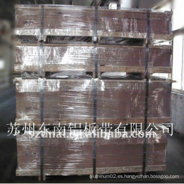 Hoja de aluminio aa8011