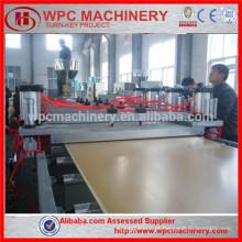 WPC bordo linha de produção / WPC mobiliário placa, construção bordo fazendo linha de produção