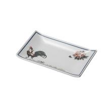 Prato de melamina para sushi / Placa retangular de melamina (4102)