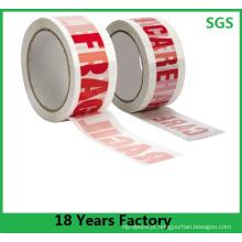 Venda quente de alta qualidade adesiva personalizada fita impressa