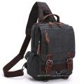 Messenger Canvas Shoulder Handbags Backpack Haversack Rucksack