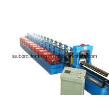 Máquina formadora de rolo de rack de silo de aço