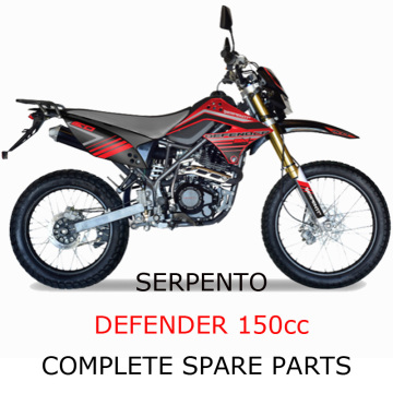 Serpento Dirt Bike Defender150cc Part Komple Parçalar