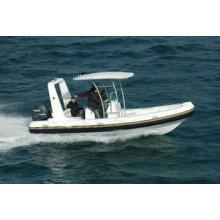 Barcos de la costilla, barcos inflables, yates