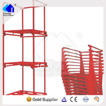 China golden rack supplier warehouse tire stacking rack system