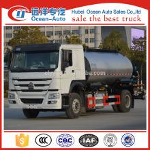NEW howo brand 10cubic meter intelligent asphalt distributor truck with half intelligent machine for sale