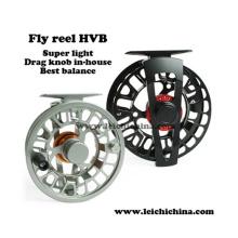 Carrete de pesca con mosca super equilibrado y super ligero