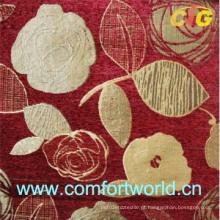 Tecido do sofá do jacquard do Chenille (SHSF04198)