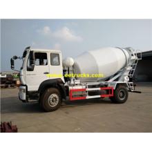 Тележка 4 м3 бетона транспортных средств