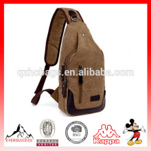 Day Backpack Canvas Chest Pack Bolso cruzado