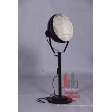 Lámpara de pie redonda