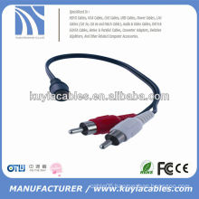 6FT 3.5mm male to RCA CABLE AUDIO