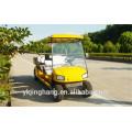 Certificación CE 6 passgers gasolina power golf sightsseing carro utilizado para arear escénica