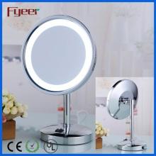 Fyeer 8 Inch Single Side Round Maquiagem LED Mesa Espelho