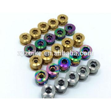 Boulons en chaîne en titane 3,5 / 6,5 mm pour SHIMANO & SRAM Pièces de vélo en gros