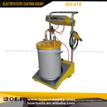 Sistema de revestimento eletrostático do pó da máquina de revestimento eletrostática do pó