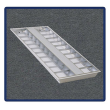 Four Tubes, 1220*600/T5/4X40W Recessed Mounted Grille Lamp