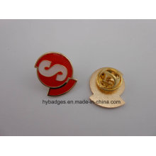 Enamel Gold Plated Badges, Metal Lapel Pins (GZHY-KA-030)