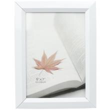 Molduras para fotos de Pvc branco em 5 x 7 polegadas