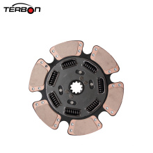15.5'' Clutch Disc For Heavy Duty Truck with 7 Springs 387mm Clutch Disco For International