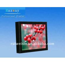 Reproductor de TV LCD de 8 pulgadas en marco estrecho