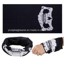 Personalizado poliéster multifuncional sem costura listrada bandana bandana